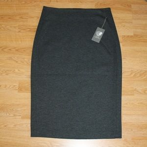 Vince Camuto Gray Pencil Skirt S XS NEW